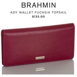NWT Brahmin Ady Wallet